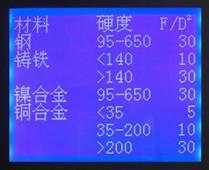 KB-3000E电子布氏硬度机